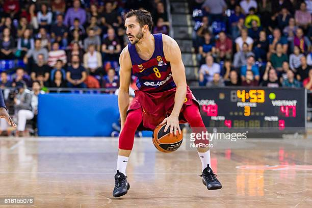 Pau Ribas in action during the Turkish Airlines Euroleague match between FC Barcelona Lassa Fenerbahce Ulker for the Regular Season Round 2 played at...