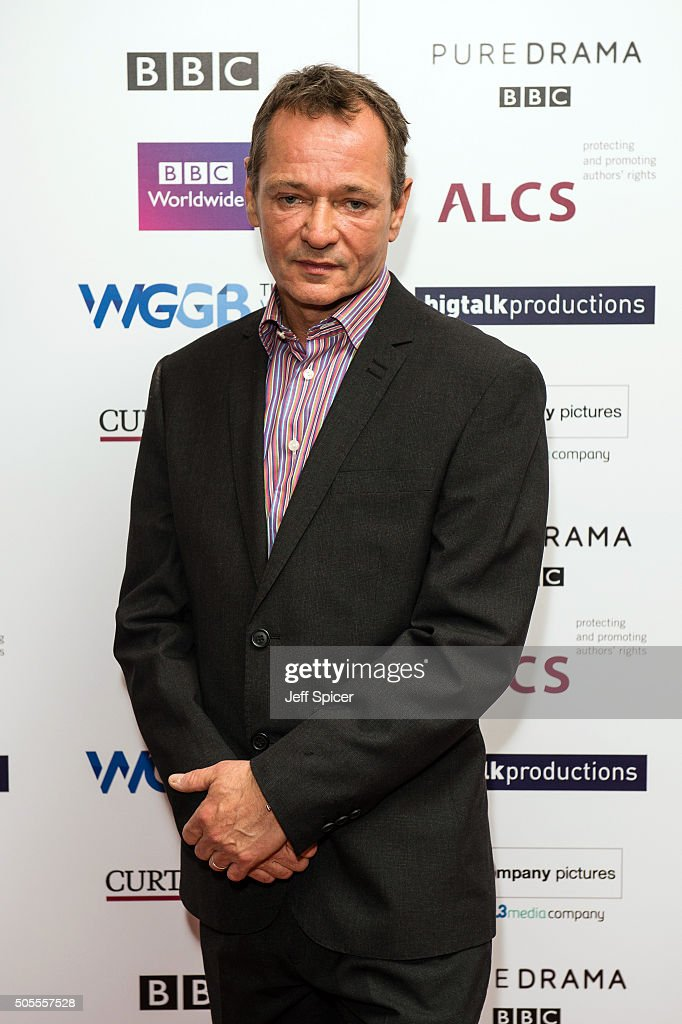 Paul Abbott arrives at the Writers Guild Awards at RIBA on January 18 2016 in London England