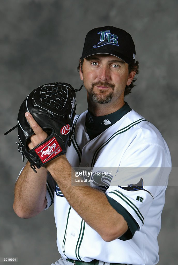 Paul Abbott of the Tampa Bay Devil Rays poses for a portrait on February 23 2004 at the Devil Rays spring training complex in St Petersburg Florida