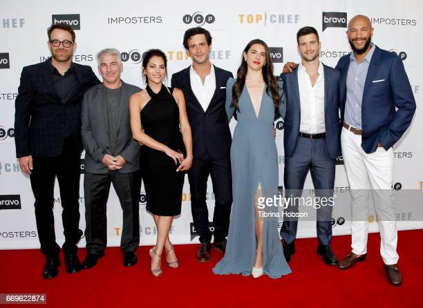 Paul Adelstein Brian Benben Inbar Lavi Rob Heaps Marianne Rendon Parker Young and Stephen Bishop attend the 'Imposters' for your consideration event...