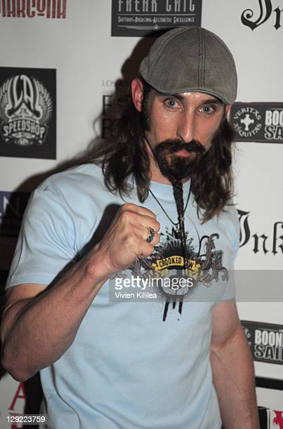 Paul Alessi attends 'The Boondock Saints' Bike Benefit at Tuff Sissy Co on October 13 2011 in Los Angeles California
