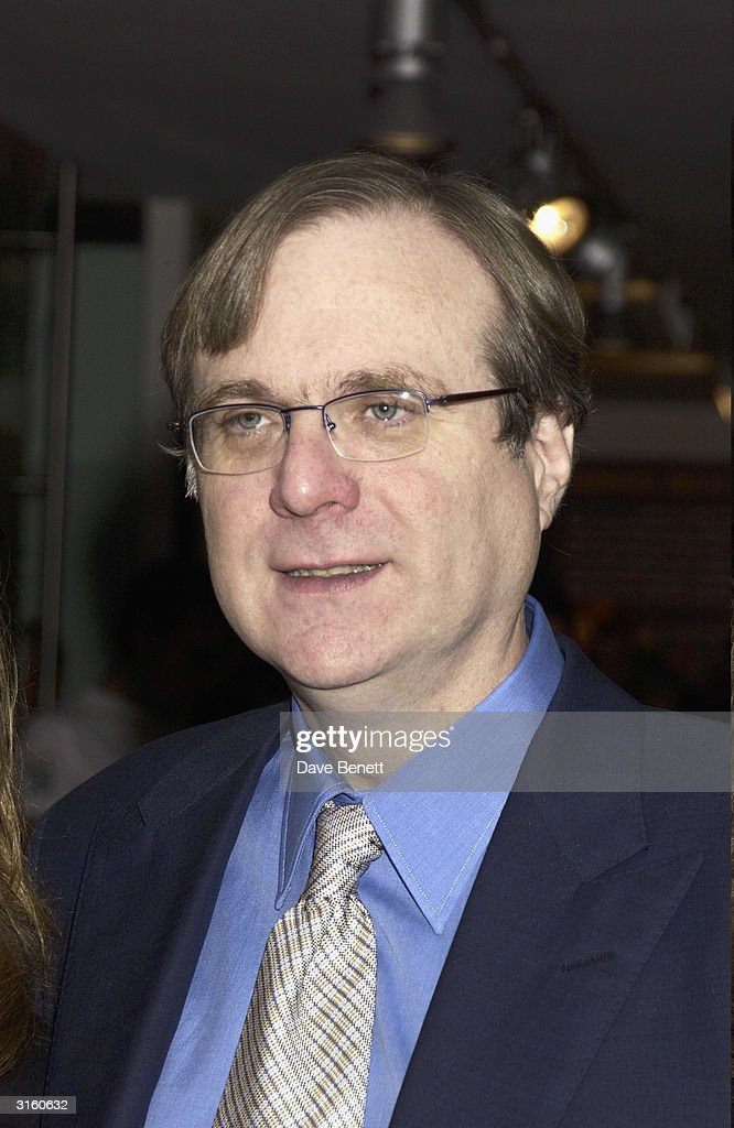 Paul Allen attends the launch party for 'The Hospital' which is the latest music and art project by Dave Stewart at The Hospital on October 24, 2003 in London.