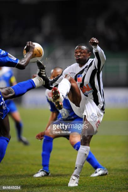 Paul ALO'O Troyes / Angers 27eme journee de Ligue 2 Photo Dave Winter / Icon Sport