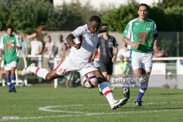 Paul ALO'O EFOULOU Saint Max Essey Les Nancy / Nancy Match de preparation Saison 2011/2012