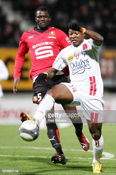 Paul ALO'O EFOULOU Nancy / Rennes 17e journee Ligue 1 Stade Marcel Picot Nancy