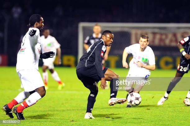 Paul ALO'O EFOULOU Brest / Angers 23eme journee de Ligue 2