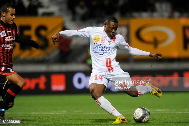 Paul ALO'O EFOULOU Nancy / Nice 11e journee Ligue 1 Stade Marcel Picot Nancy