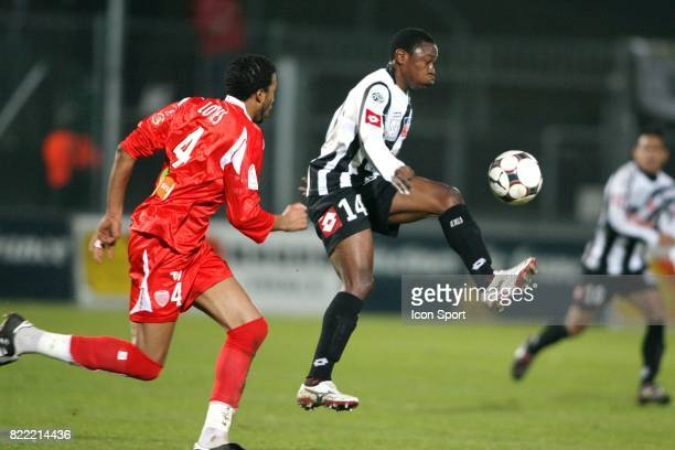 Paul ALO'O EFOULOU Angers / Dijon 18eme journee de Ligue 2