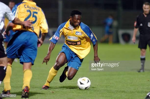 Paul ALOO EFOULOU Brest / Sannois Saint Gratien 5eme journee de Ligue 2 Brest