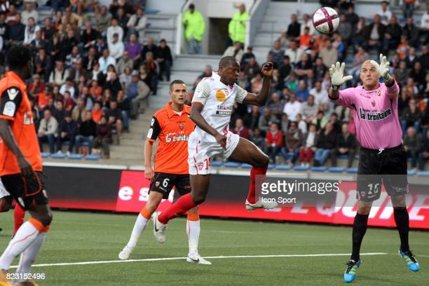 Paul ALO'O EFOULOU / Fabien AUDARD Lorient / Nancy 4eme journee de Ligue 1