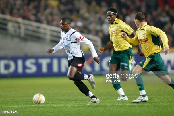 Paul ALO'O EFOULOU / Harlington SHERENI Nantes / Angers 16eme journee de Ligue 2