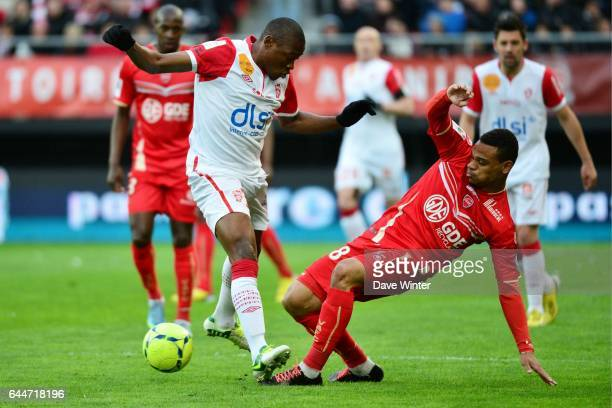 Paul ALO'O EFOULOU / Kenny LALA Valenciennes / Nancy 34e journee de Ligue 1 Photo Dave Winter / Icon Sport