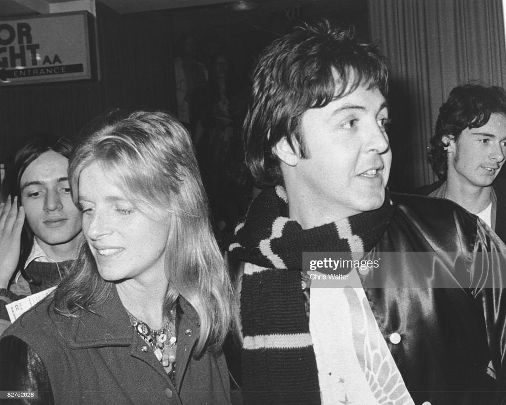 Paul and Linda McCartney 1976