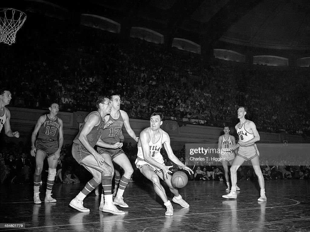 1956 NBA Finals Fort Wayne Pistons v Philadelphia Warriors