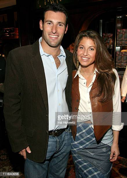 Paul Arrout and Dylan Lauren during Cocktail Reception to Celebrate Ricky Lauren's Book 'Ricky Lauren Cuisine Lifestyle and Legend of the Double RL...