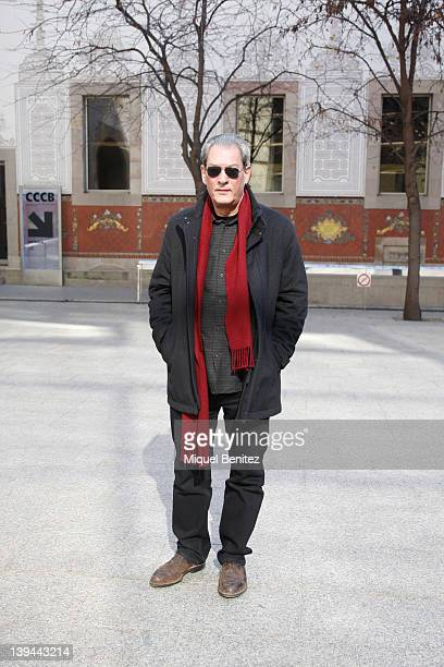 Paul Auster presents his new book 'Diario de Invierno' 'Diari d'Hivern' 'Winter Journal' at the CCCB on February 21 2012 in Barcelona Spain