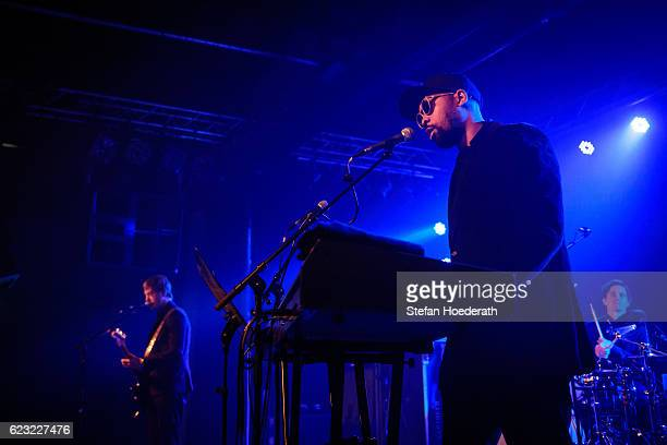 Paul Banks and Rapper RZA of Banks Steelz perform live on stage during a concert at Postbahnhof on November 14 2016 in Berlin Germany