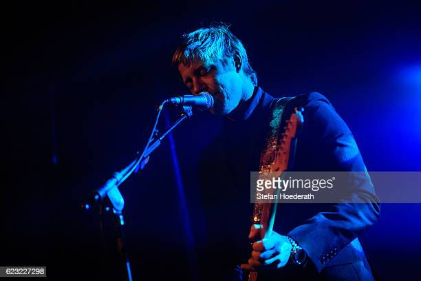 Paul Banks of Banks Steelz performs live on stage during a concert at Postbahnhof on November 14 2016 in Berlin Germany