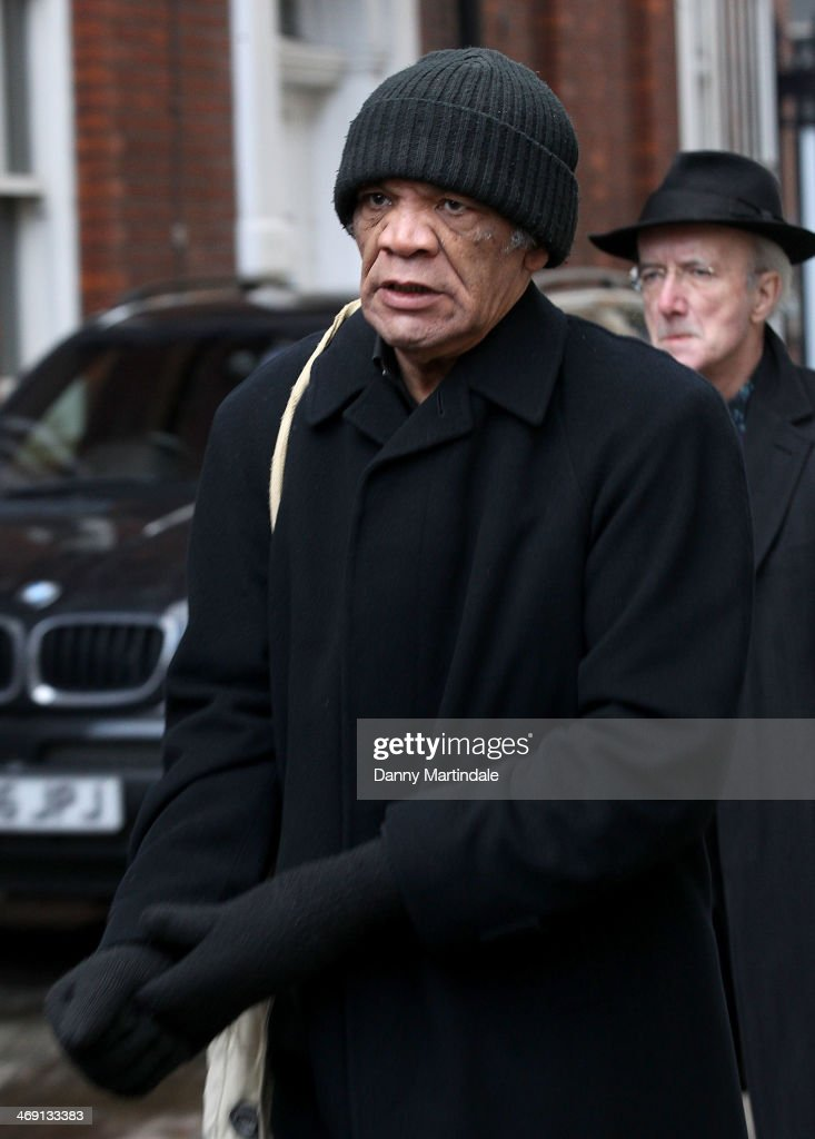 Paul Barber attends the funeral of actor Roger Lloyd-Pack at St Paul's Church on February 13, 2014 in London, England.