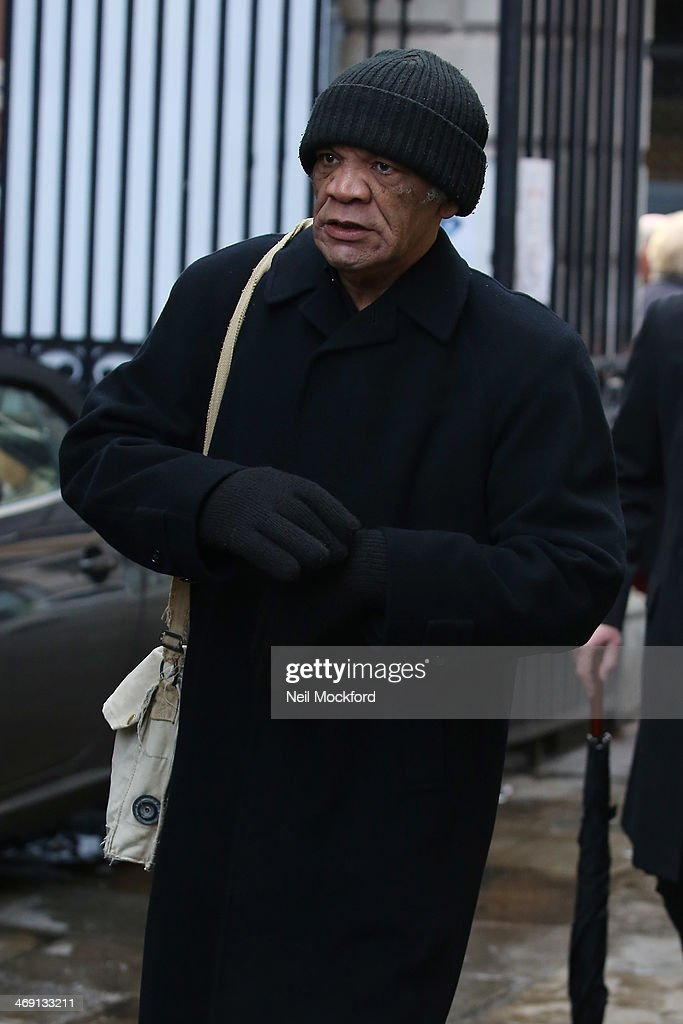 Paul Barber attends the funeral of Roger Lloyd-Pack at St Paul's Church in Covent Garden on February 13, 2014 in London, England.