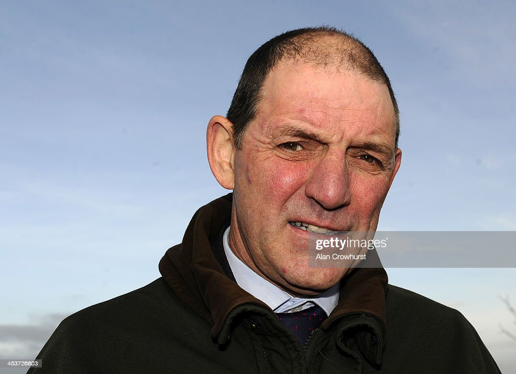 Paul Barton, Senior Stipendiary Steward attends a stewards enquiry into the fighting between jockeys Dominic Elsworth and Timmy Murphy at Newbury racecourse at the weekend at Wincanton racecourse on December 05, 2013 in Wincanton, England.