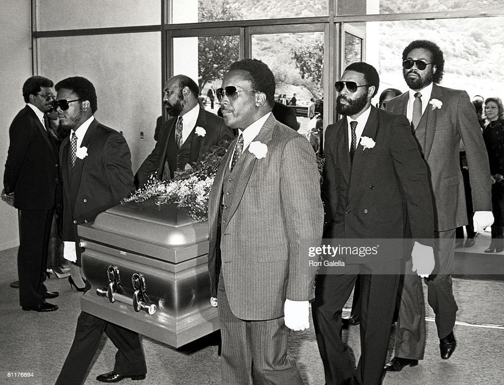 Paul Bearers for Marvin Gaye's Funneral Service