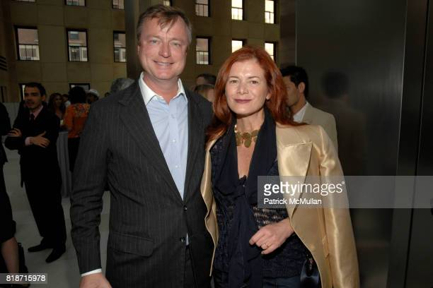 Paul Beirne and Lady Elena Foster attend Champagne Reception for the New York Premiere of 'HOW MUCH DOES YOUR BUILDING WEIGH MR FOSTER' hosted by...