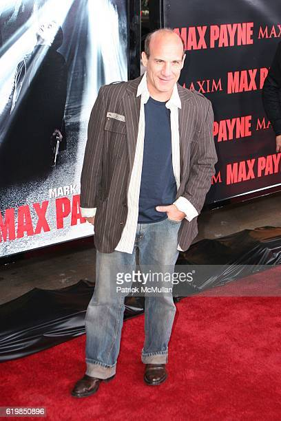 Paul Ben Victor attends MAX PAYNE MOVIE PREMIERE at Grauman's Chinese Theatre on October 13 2008 in Hollywood CA