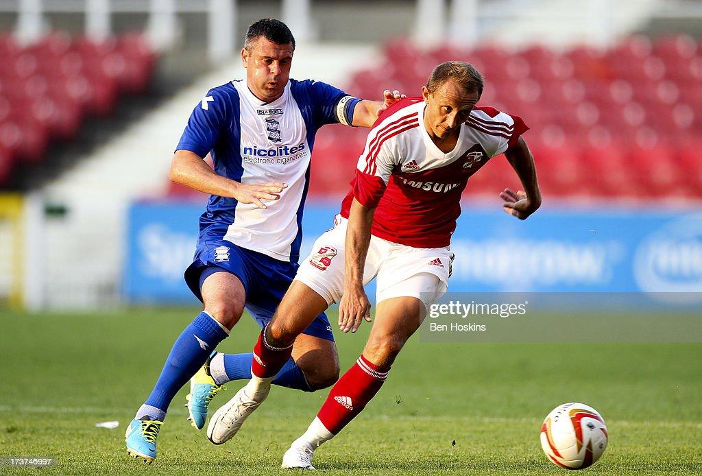 Swindon Town v Birmingham City - Pre Season Friendly
