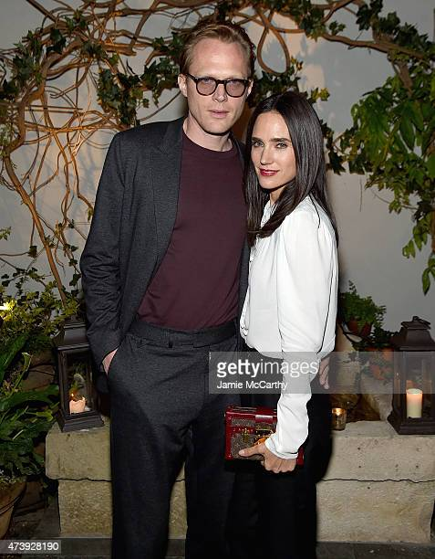 Paul Bettany and Jennifer Connelly attend The Cinema Society with Town Country host a special screening ff Sony Pictures Classics' 'Aloft' after...