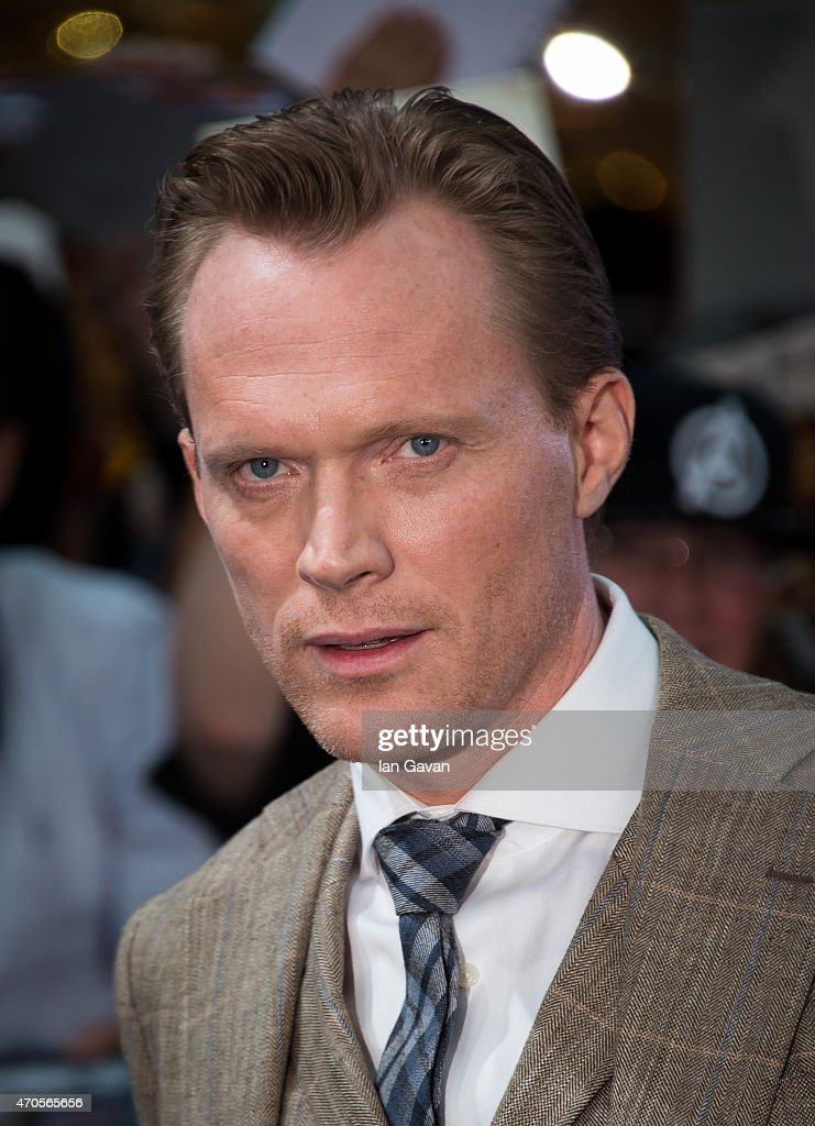 Paul Bettany attends the European premiere of 'The Avengers: Age Of Ultron' at Westfield London on April 21, 2015 in London, England.