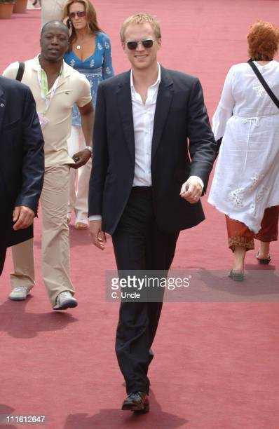 Paul Bettany during 2006 Cannes Film Festival Seen Around Cannes Day 3 in Cannes France