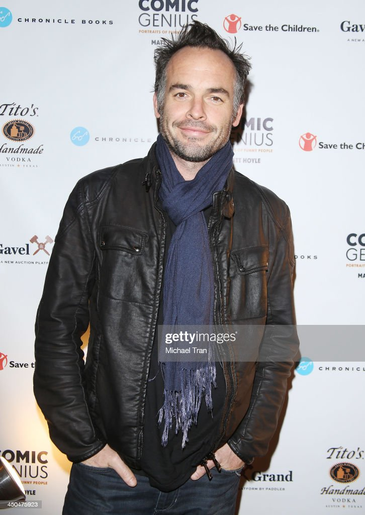 Paul Blackthorne arrives at the Save The Children Foundation celebrates Comic Genius Portraits of Funny People held at Bergamot Station on November...