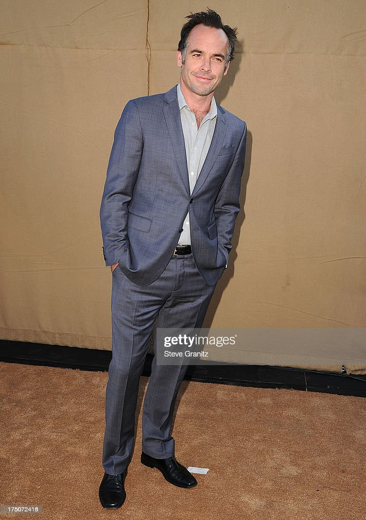 Paul Blackthorne arrives at the Television Critic Association's Summer Press Tour - CBS/CW/Showtime Party at 9900 Wilshire Blvd on July 29, 2013 in Beverly Hills, California.