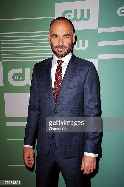 Paul Blackthorne attends The CW Network's New York 2015 Upfront Presentation at The London Hotel on May 14 2015 in New York City