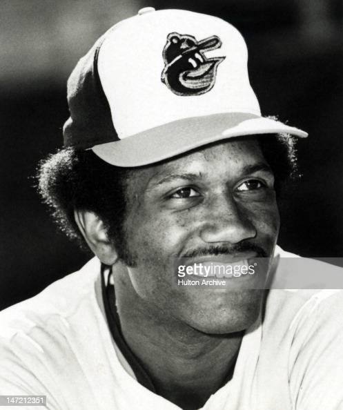Paul Blair of the Baltimore Orioles poses for a portrait in March 1975 in Baltimore Maryland