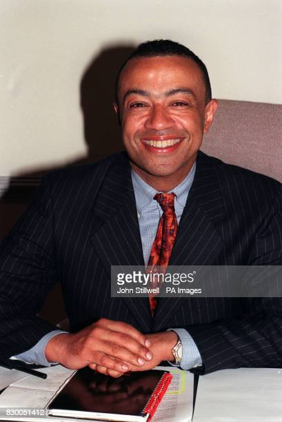 Paul Boateng MP under secretary of state at the Health department London 17/11/00 Prisons Minister Boateng who asked for a formal investigation into...