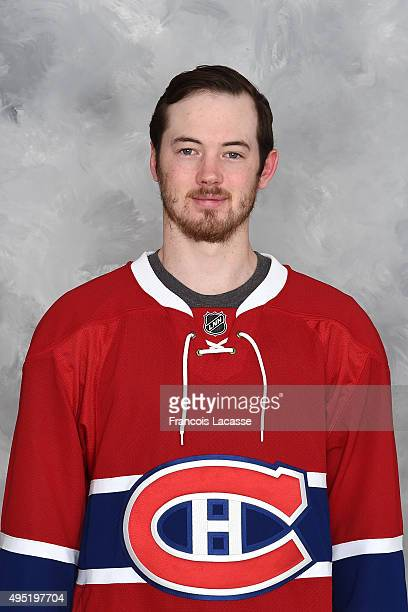 Paul Byron of the Montreal Canadiens poses for his official headshot for the 20142015 season on October 24 2015 at the Bell Sports Complex in...
