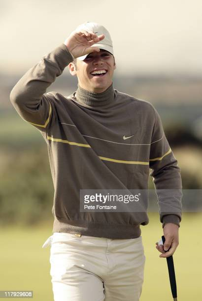 Paul Casey during the second round of the 2006 Alfred Dunhill Links Championship held on the KIngsbarns Golf Links October 6 2006