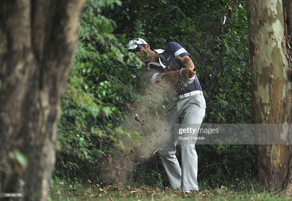 <a gi-track='captionPersonalityLinkClicked' href=/galleries/search?phrase=Paul+Casey&family=editorial&specificpeople=198895 ng-click='$event.stopPropagation()'>Paul Casey</a> of England plays a shot during the second round of the UBS Hong Kong open at The Hong Kong Golf Club on November 16, 2012 in Hong Kong, Hong Kong.