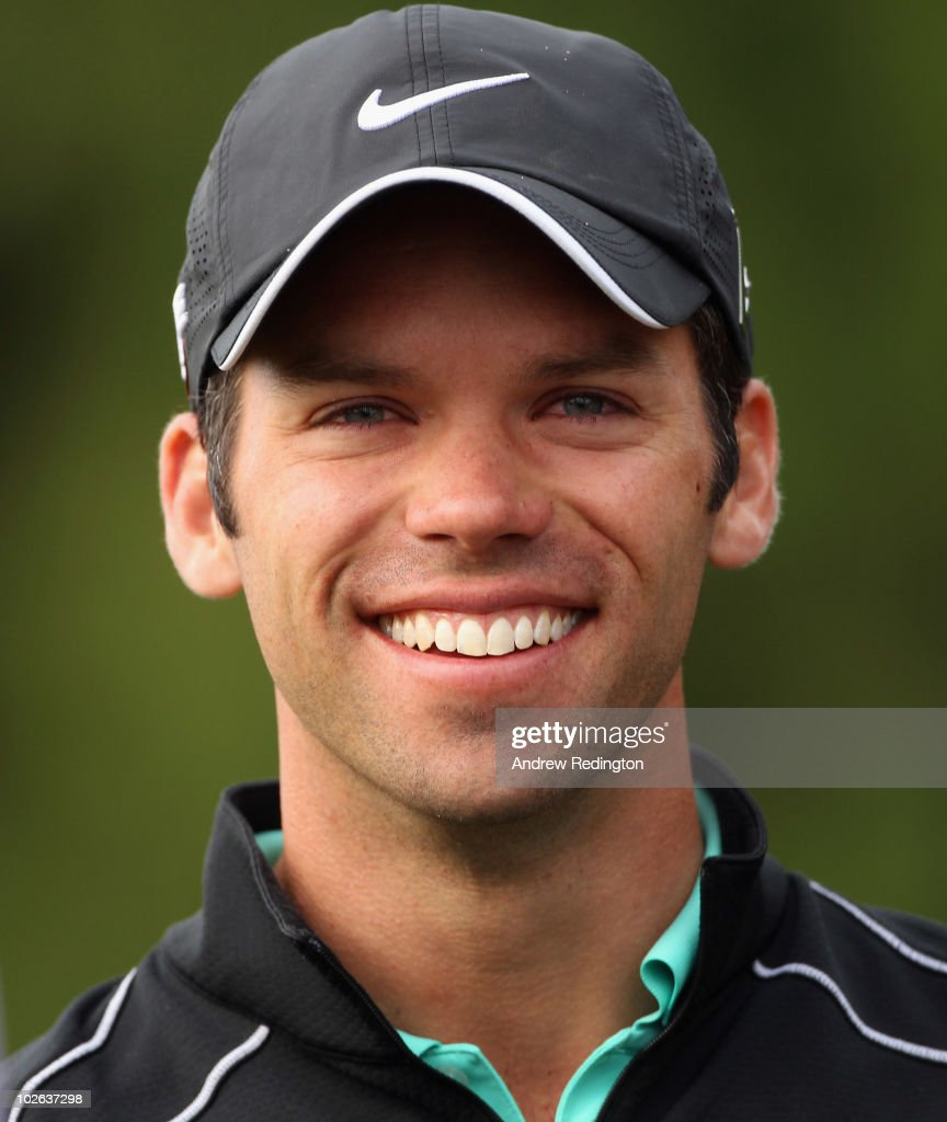 <a gi-track='captionPersonalityLinkClicked' href=/galleries/search?phrase=Paul+Casey&family=editorial&specificpeople=198895 ng-click='$event.stopPropagation()'>Paul Casey</a> of England smiles on the tenth hole during the second round of The JP McManus Invitational Pro-Am event at the Adare Manor Hotel and Golf Resort on July 6, 2010 in Limerick, Ireland.