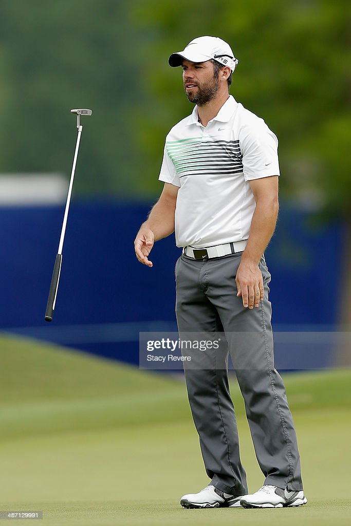 <a gi-track='captionPersonalityLinkClicked' href=/galleries/search?phrase=Paul+Casey&family=editorial&specificpeople=198895 ng-click='$event.stopPropagation()'>Paul Casey</a> tosses his club on the 14th during the Final Round of the Zurich Classic of New Orleans at TPC Louisiana on April 27, 2014 in Avondale, Louisiana.
