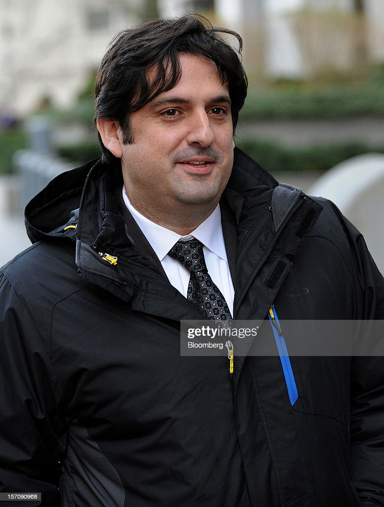 Paul Ceglia, indicted on charges of mail fraud and wire fraud, exits federal court in New York, U.S., on Wednesday, Nov. 28, 2012. Ceglia, 39, pleaded not guilty to criminal charges that he faked evidence in his contract lawsuit against Facebook Inc. and its chief executive officer, Mark Zuckerberg. Photographer: Peter Foley/Bloomberg via Getty Images