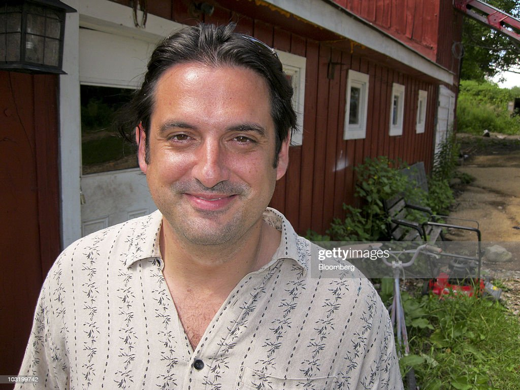 Paul Ceglia poses for a photo outside his home in Wellsville, New York, U.S., on Thursday, July 29, 2010. Ceglia sued Facebook and its founder and Chief Executive Officer Mark Zuckerberg in New York state court, claiming that an April 2003 agreement entitles him to ownership of most of the privately held company. Photographer: Bob van Voris/Bloomberg via Getty Images