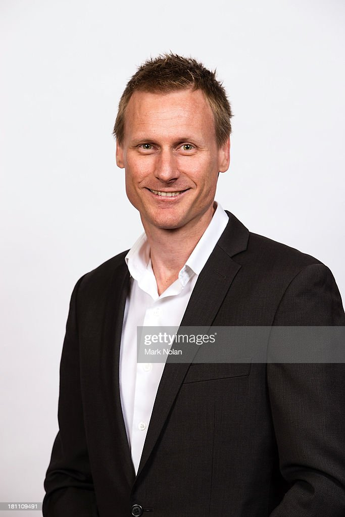 Paul Cochrane of the NBL poses during the official 2013/14 NBL Headshots Session at The Entertainment Quarter on September 19, 2013 in Sydney, Australia.