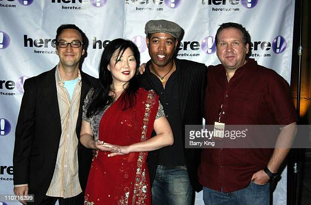 Paul Colichman founder/CEO of Here Margaret Cho Bruce Daniels and Mark Reinhart