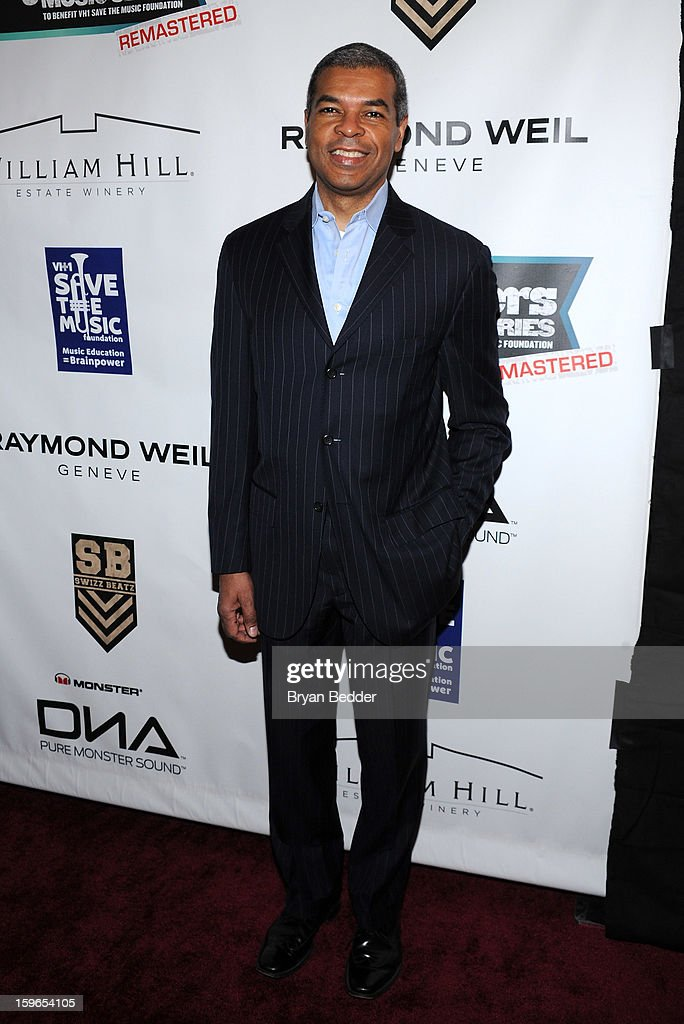 Paul Cothran attends VH1 Save The Music Foundation's Songwriters Music Series Remix featuring Swizz Beatz & Friends, presented by Monster DNA Headphones & William Hill Estate Winery at Hard Rock Cafe New York on January 17, 2013 in New York City.