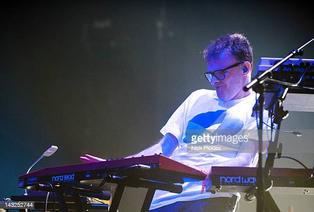 Paul Daley of Leftfield performs at Brixton Academy on April 21 2012 in London England