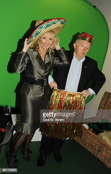 Paul Daniels and Debbie McGee attend the Walkers campaign launch at Orchid on March 29 2010 in London England