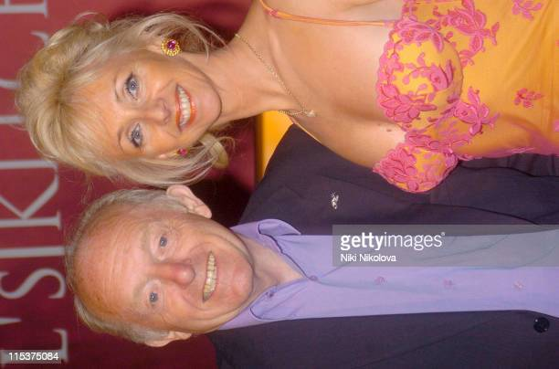 Paul Daniels and Debbie McGee during 'Hell's Kitchen II' Final Night Arrivals at Brick Lane in London Great Britain